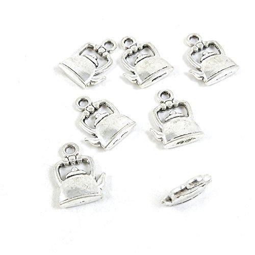 Q5CJ5I Wasserkessel, Antik-Silber, 30 Stück