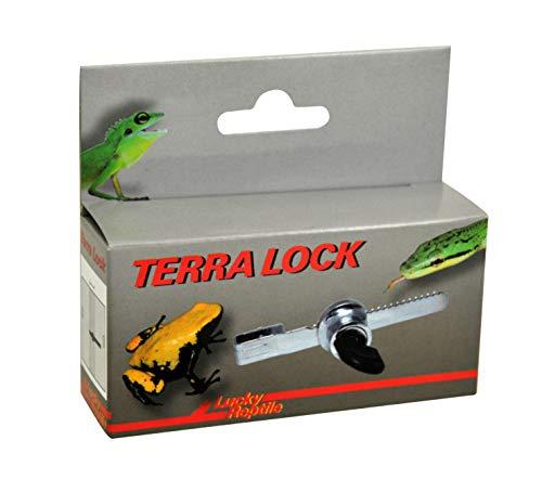 Lucky Reptile Terra Lock, Qualitativ hochwertiges Schloss für Schiebescheiben