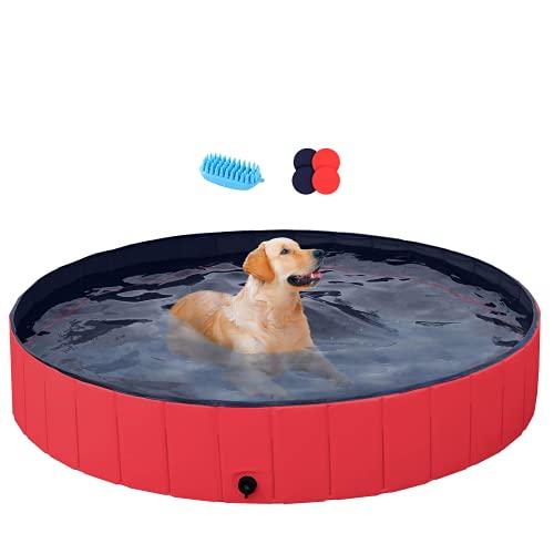 Yaheetech Outdoor Dog Swimming Pool