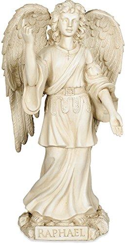 Angelstar Figurine archange Raphaël, en métal, Multicolore, 7