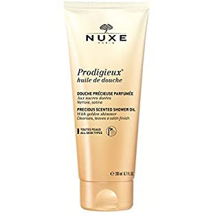 Prodigieux by Nuxe Shower Oil With Golden Shimmer 200ml:Kisaran