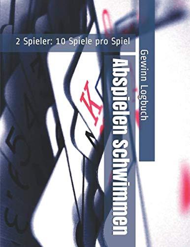 Abspielen Schwimmen - 2 Spieler: 10 Spiele pro Spiel - Gewinn Logbuch