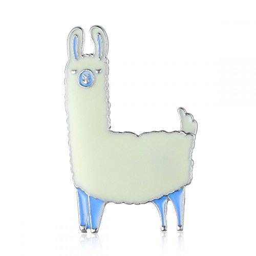 null KARAT by schmuckrausch Pin Anstecker Brosche Lama Alpaca Alpaka Kamel