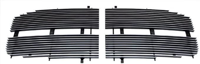 MAXMATE Fits 06-08 Dodge Ram Pickup 2PC Upper Replacement Polished Billet Grille Grill Insert