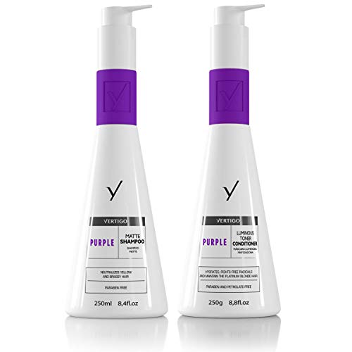 Ybera Vértigo Purple. Champú Rubios. - 250 ml