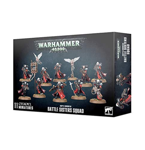 Games Workshop Warhammer 40,000 Adepta Sororitas Battle Sisters Squad Citadel Miniatures