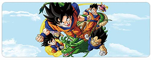 MOUSEPADBD Muispads, Dragon Ball Anime1000 mm x 500 mm x 3 mm, spel muismat voor PC B