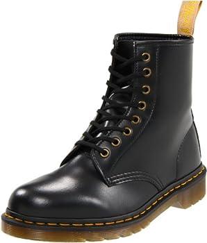 Dr Martens Vegan 1460 Lace Up Boots Black 10 Women/9 Men