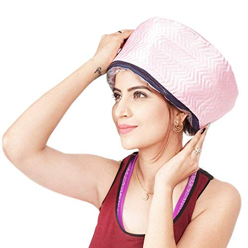 URBANMAC Hair Care Thermal Head Spa Cap Treatment with Beauty Steamer Nourishing Heating