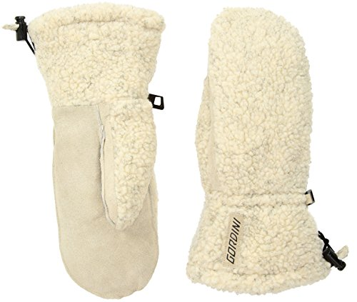 Gordini Women's Misses Wooly Insulated Mittens, Oatmeal, Medium