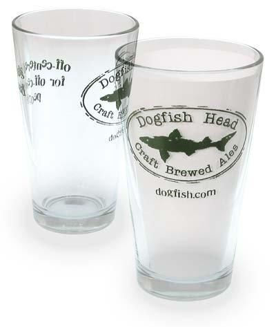 Dogfish Head Signature Pint Glass - Set of 2