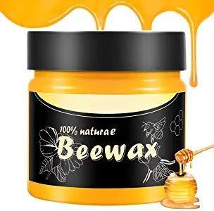 GDMONIN Wood Seasoning Beewax, Multipurpose Natural Wood Seasoning Beeswax, Natural Beewax Polish...