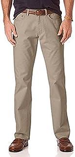 بناطيل رجالي من ايزود مريحة قابلة للتمدد بمقاس مستقيم 5 جيوب