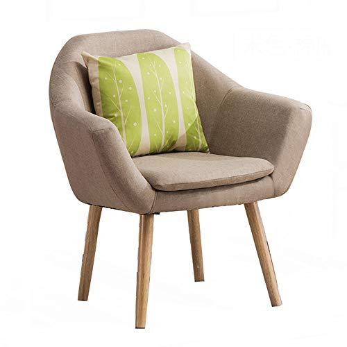 Nordic chaise en bois massif café décontracté simple à manger chaise chaise chaise de bureau restaurant chaise en bois massif (Couleur : H)