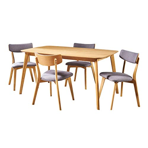 Christopher Knight Home Alma Mid-Century Wood Dining Set