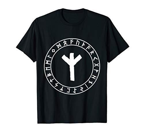 Algiz Rune Viking Rune Norse Pagan Clothes Wicca Witchcraft T-Shirt