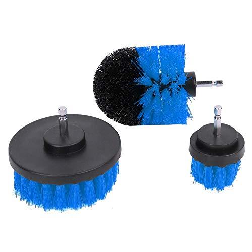 Zoternen reinigingsborstel voor elektrische boormachine, 3 stuks, voor het reinigen van douches, badkamer, tegels