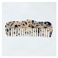 櫛 女性と櫛のスタイリングマッサージツールブラシの酢酸樹脂櫛の櫛は帯電防止ヘアケアスタイリングツール (Color : 4)