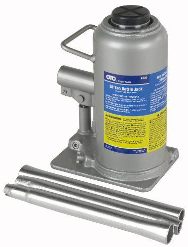of small hydraulic jacks dec 2021 theres one clear winner OTC 9330 Stinger Series 30-Ton Bottle Jack
