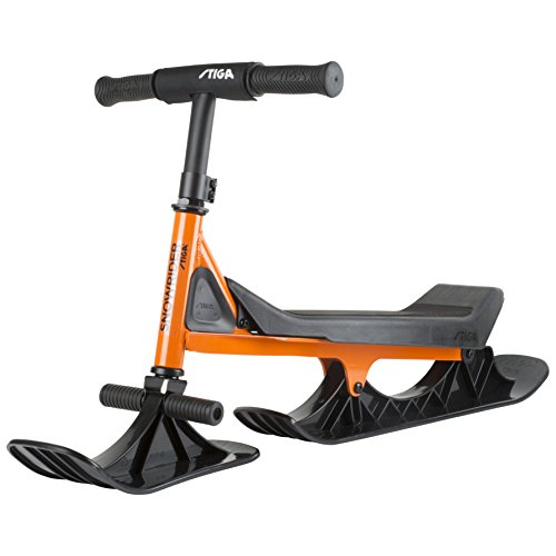 Stiga Snowrider Orange/Black, Sled...