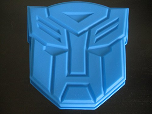 Transformers New Autobots Silicone Birthday Cake Pan Mold Party Supply Tray