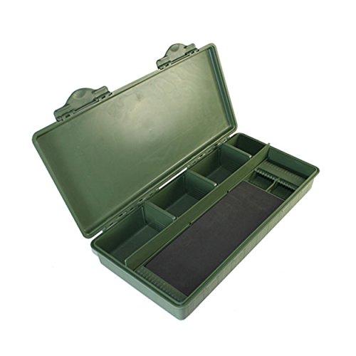 NGT 18Pin Rig Board Wallet Hair Rigs zum Karpfen Grob Angeln Tackle Box System