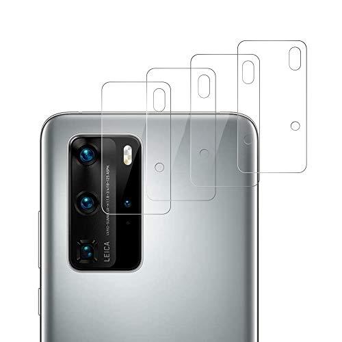 RSSYTZ 【4 piezas】Cámara Trasera Lente para Huawei P40 Pro, Protector Cámara [Alta definición] Cristal Templado para Huawei P40 Pro