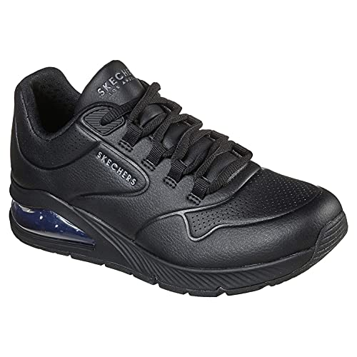 Skechers Damen UNO 2 Air Around You Sneaker, Schwarz, 41 EU