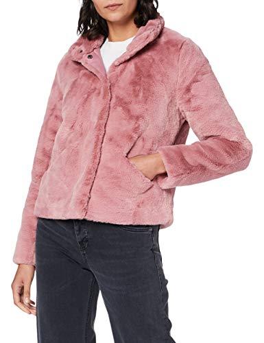 ONLY Damen ONLVIDA Faux FUR Jacket OTW NOOS Jacke, Dusty Rose, XS
