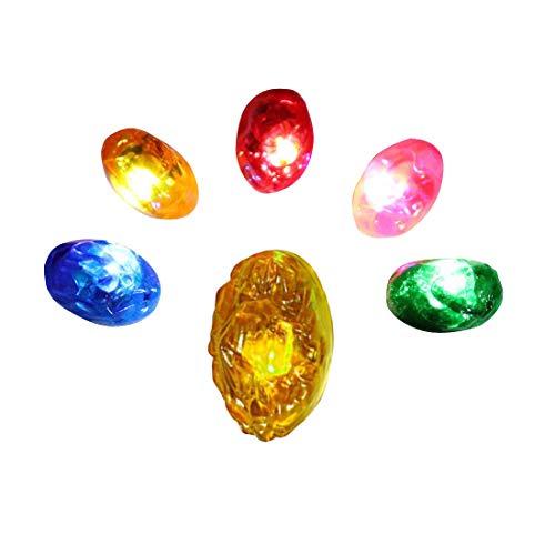Reemplace las gemas Infinity Stones por un guantelete Infinity LED adulto magnético separable