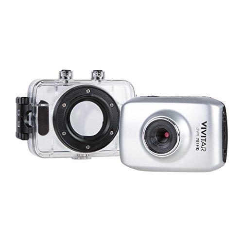 Vivitar DVR781HD-SIL HD Action Cam, Silver