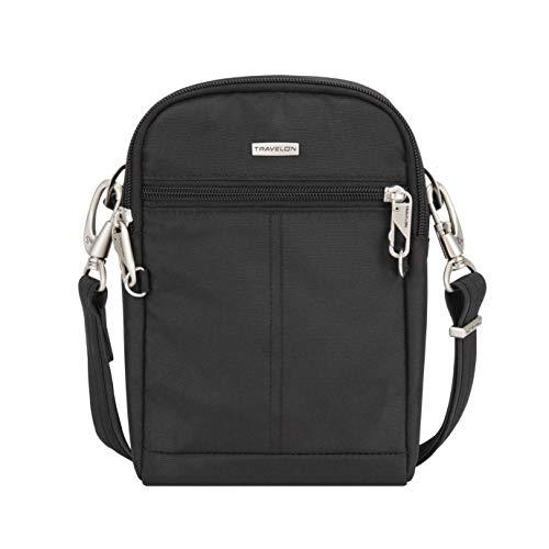 Travelon Reisetasche mit Diebstahlschutz, klassisch, klein, schwarz (Schwarz) - 43044 500