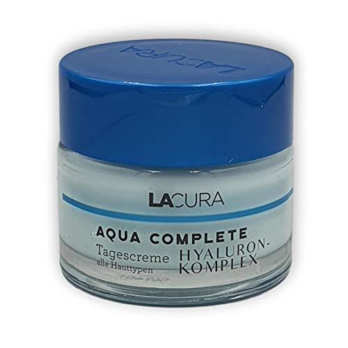 Lacura AQUA COMPLETE Hyaluron Komplex Tagescreme Alle Hauttypen 50ml
