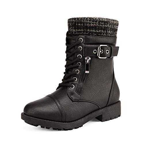 Kids Girl Combat Boots Size 2