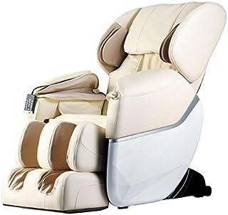 Electric Full Body Shiatsu Massage Chair Foot Roller Zero Gravity w/Heat … (Beige)