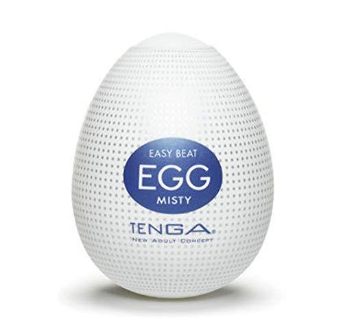 TENGA EGG, masturbateur pour homme jetable, pack de 6 Hard Boiled, discret, matière ferme