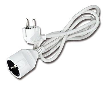 Aigostar 177393 - Alargador eléctrico de enchufe de 3 metros