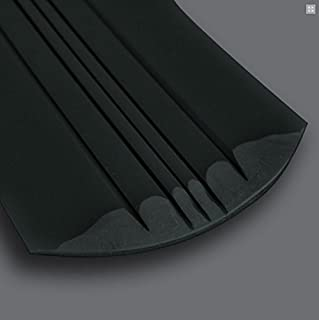 KeelGuard by Megaware - Boat Hull Protector (Choose Length & Color) (Black, 7')