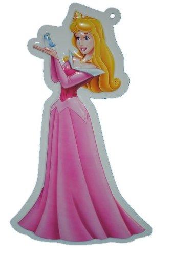 alles-meine.de GmbH XL - 3-D Disney Prinzessin Wand Bild Aurora Dornröschen Princess Mädchen rosa - Kinder / Wanddeko für das Kinderzimmer - aus als Türschild - Wandbild