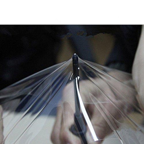 HOHOFILM PPF Película de protección de pintura de coche auto curativa, vinilo transparente brillante, lámina de vinilo autoadhesiva, rollo de 60 pulgadas x 100 metros