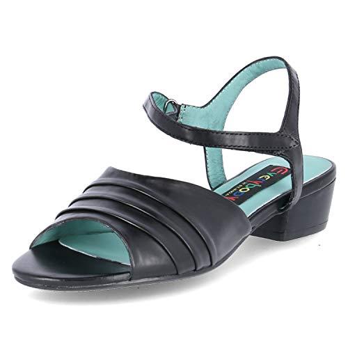 Everybody Sandaletten Größe 40 EU Schwarz (Schwarz)
