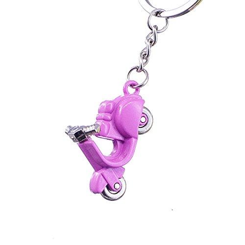 "nanomondo Schlüsselanhänger ""Pinker Motorroller"" aus Metall N1065"