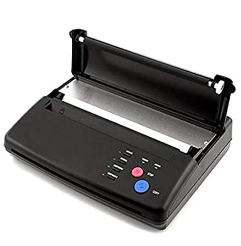 FAGUANG Schwarz A4 Thermal Thermal Copier Drucker Tattoo Thermal Transfer Machine Tattoo Transfer Paper Transfer Machine Kopierer Tattoo