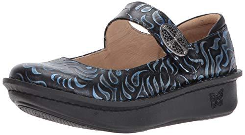Alegria Paloma Womens Mary Jane Shoe Gothic Steel 10 M US
