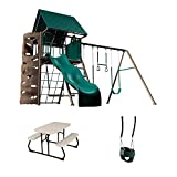 LIFETIME 90188 Playset, Children's Picnic Table and Bucket Swing...