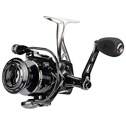 HZPXSB 21kg MAX Drag Carbon Drag Spinning Carrete de Pesca con Carrete Grande Cuerpo de Aluminio Agua Salada Spinning Reel de Pesca (Spool Capacity : 2000 Series)