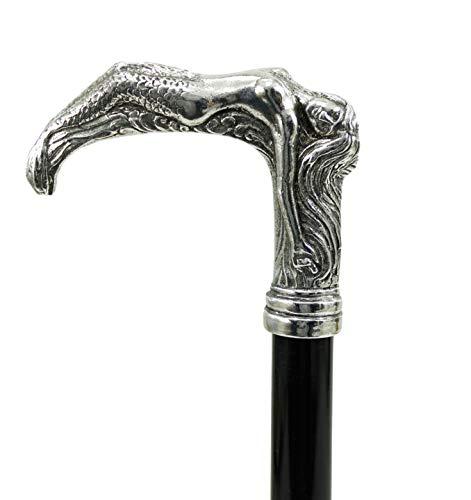 Bastón de sirena de estaño elegante para hombres y mujeres. Nuestro producto Cavagnini en Italia es resistente y adaptable