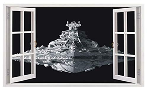 Wandsticker 3D Star Wars Wandaufkleber, entfernbar, PVC, Heimdeko, für Kinder/Spielzimmer/Jungen