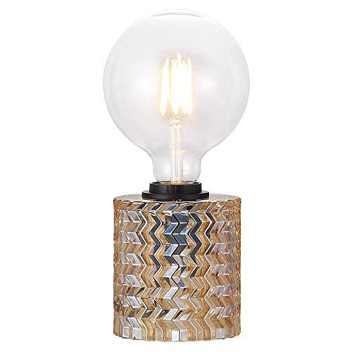 Tischlampe, Tisch-leuchte & Nachttischlampe E27 Glas