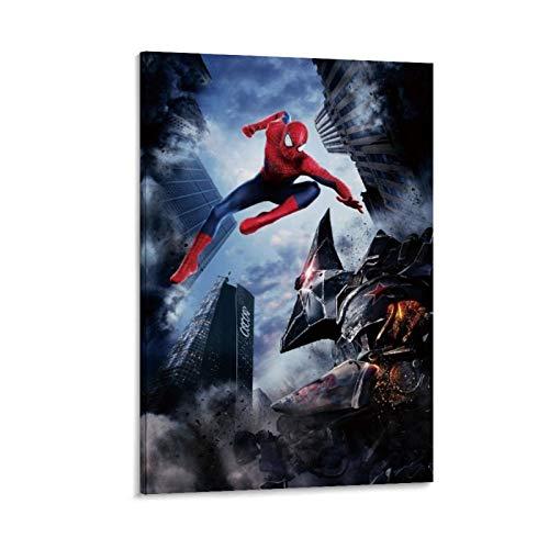 Ghychk Spider-Man – Póster de película, impresión artística para dormitorio, decoración de noche, para dormitorio, oficina en casa, listo para colgar, 40 x 60 cm
